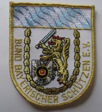 Aufnäher BBS-Bayern, weiß